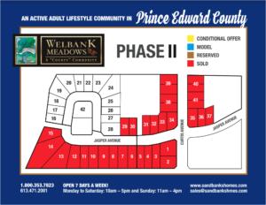 Welbank Meadows site plan